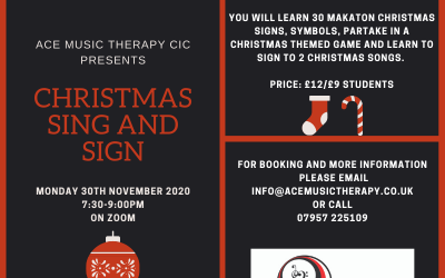 Christmas Makaton Session