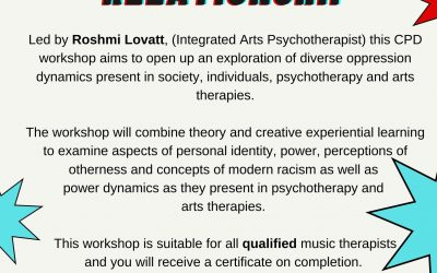 CPD Day: Working Creatively with Diversity in the Therapeutic Relationship
